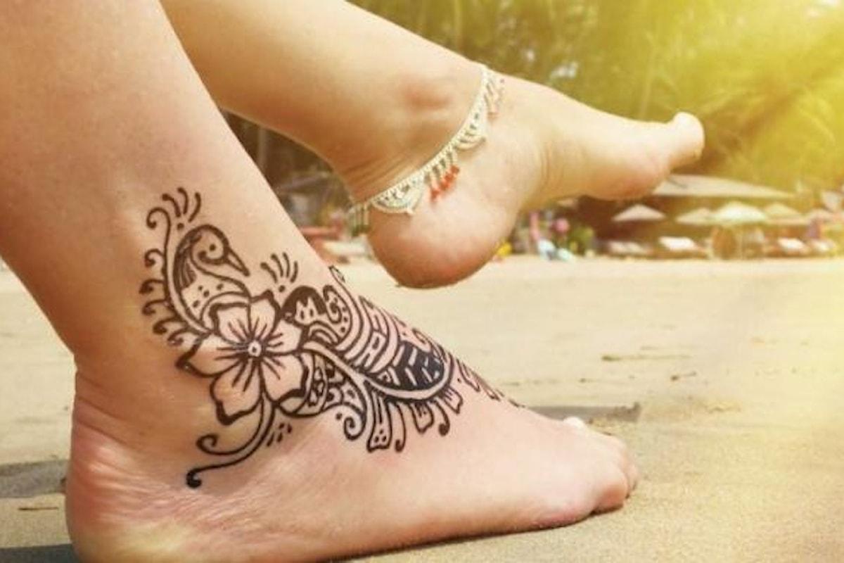 Tatuaggi all'henné? Tutt'altro che sicuri