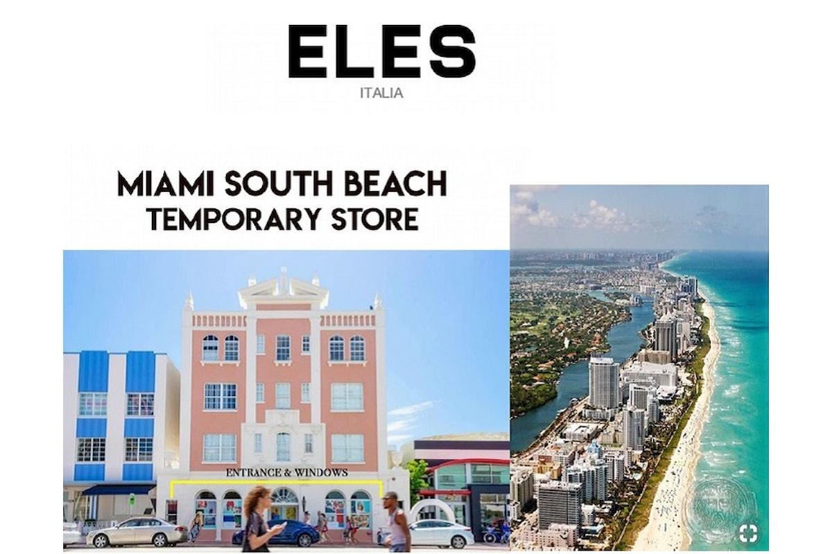 American Dream per Eles Italia che apre un temporary pop up store a Miami
