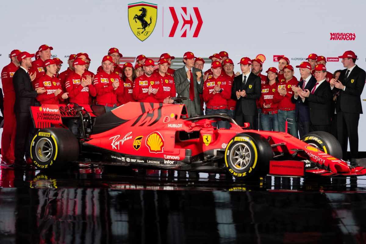 Formula 1, Ferrari presenta la SF90 per la stagione 2019