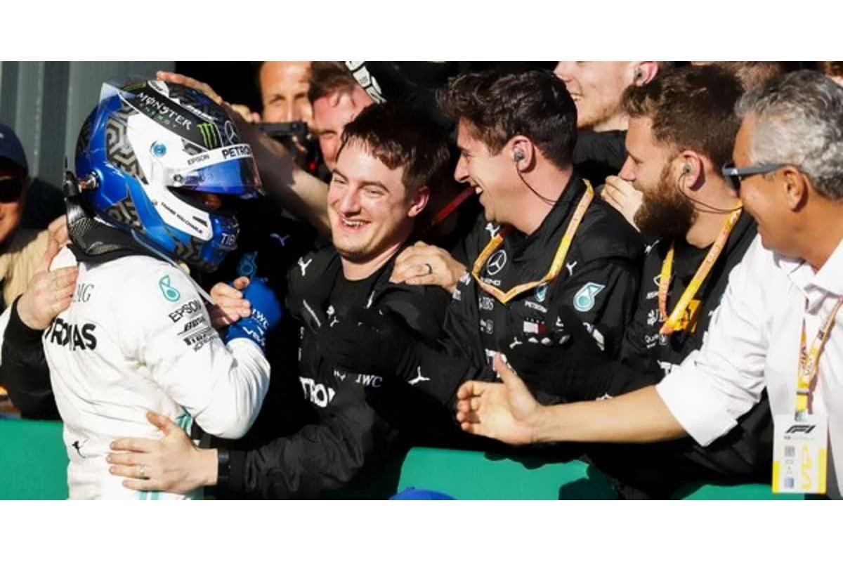 F1 2019: nel GP d'Australia vince la Mercedes, ma a sorpresa è quella di Valtteri Bottas