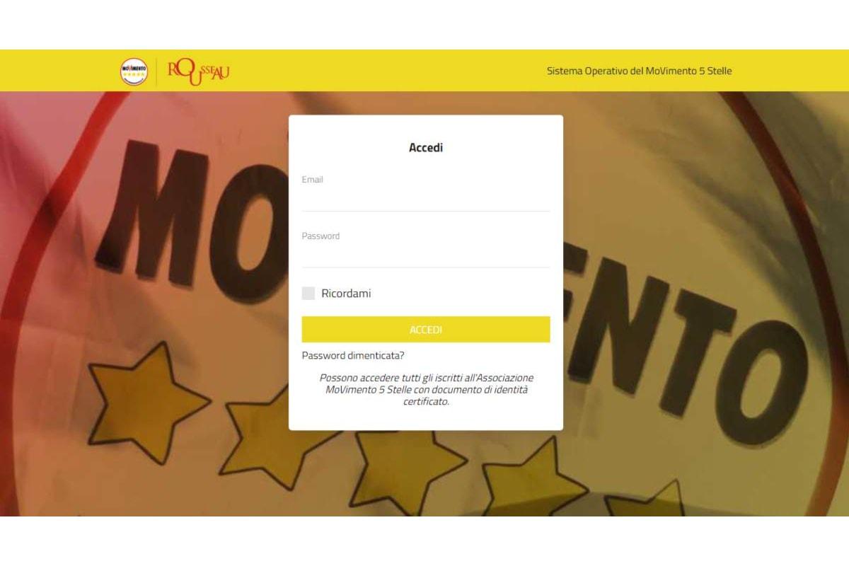 La piattaforma Rousseau, multata dal Garante per la Privacy per violazione dei dati