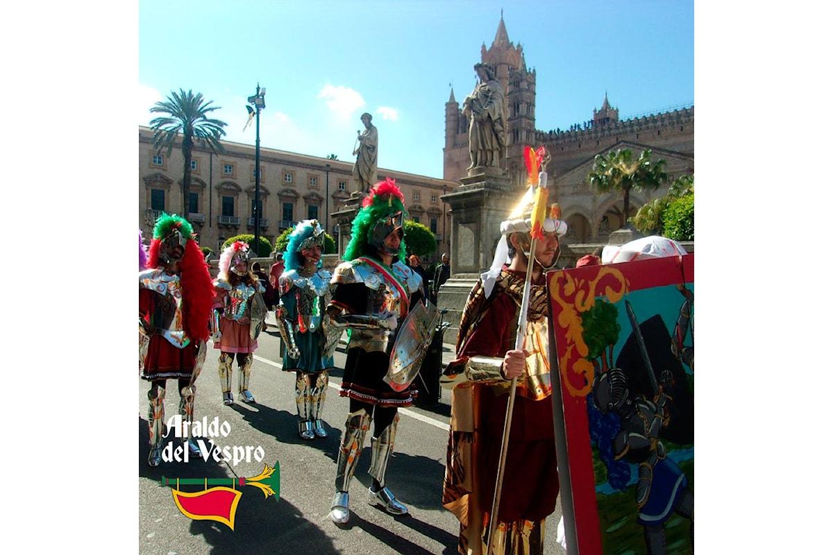 Torna la Parata dei Paladini lungo il centro storico di Palermo, sabato 6 aprile alle ore 16.30