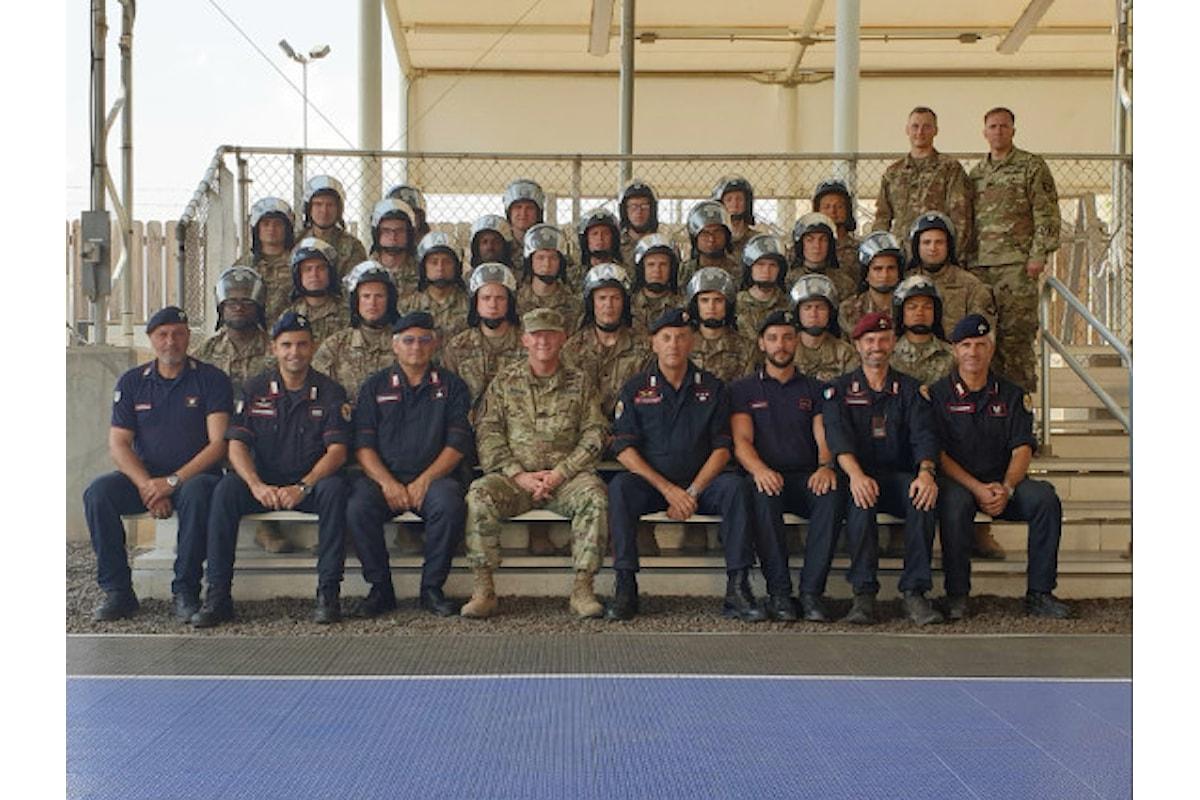 Somalia, Carabinieri addestrano militari USA della Apache Company