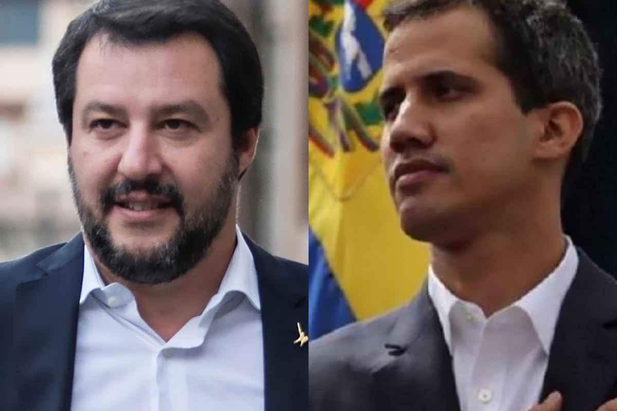 Venezuela: il ministro dell'Interno Salvini dice di essere vicino al golpista Guaidó