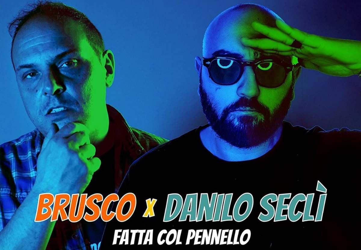 Brusco x Danilo Seclì, ecco Fatta col pennello (Push Beat Records)