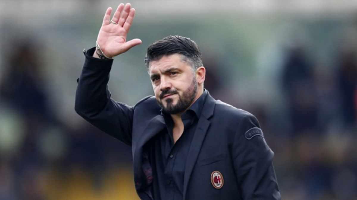 Gattuso dice addio al Milan