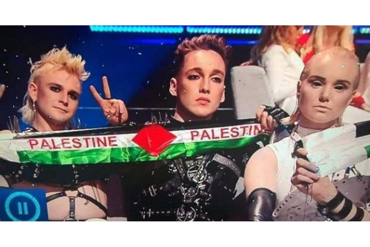 Scandalo: due bandierine palestinesi all'Eurovision Song Contest 2019