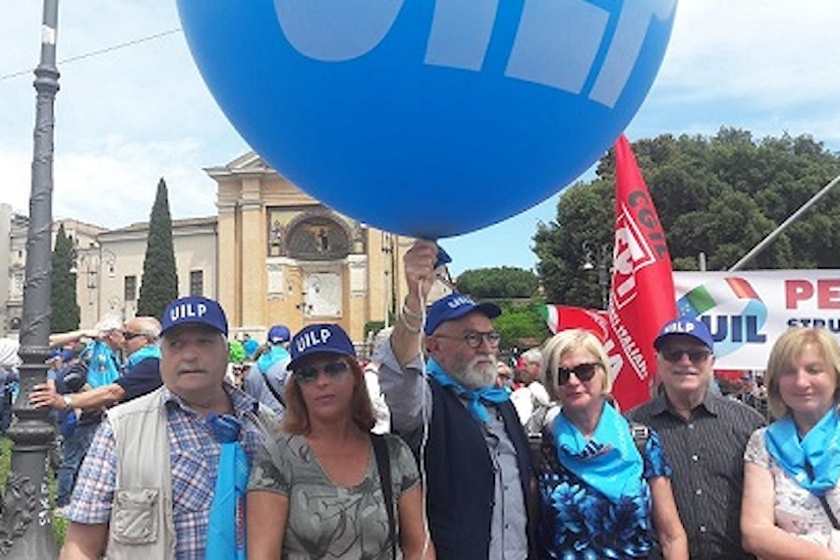 1 giugno, manifestazione dei pensionati a Roma