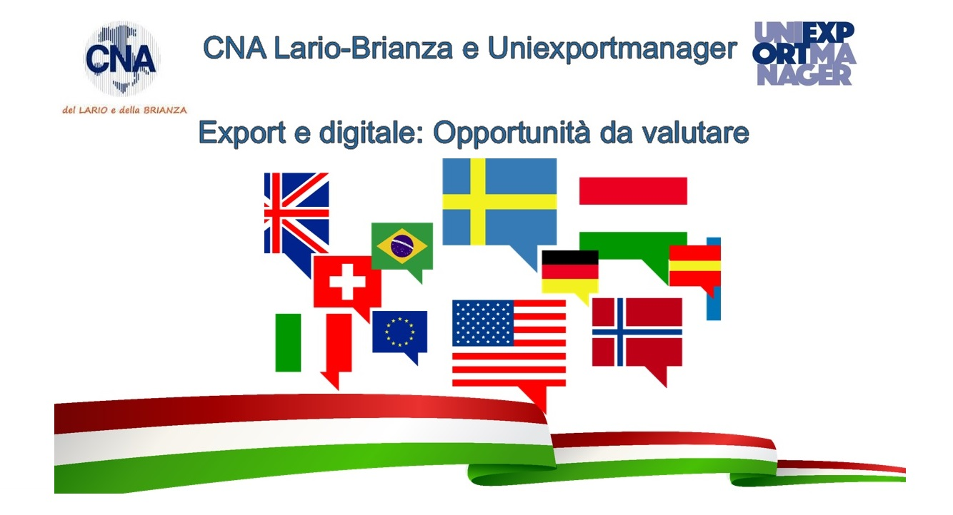 Ultima serata a tema export pre-vacanze estive, il 23 luglio 2019 in Brianza, a Limbiate