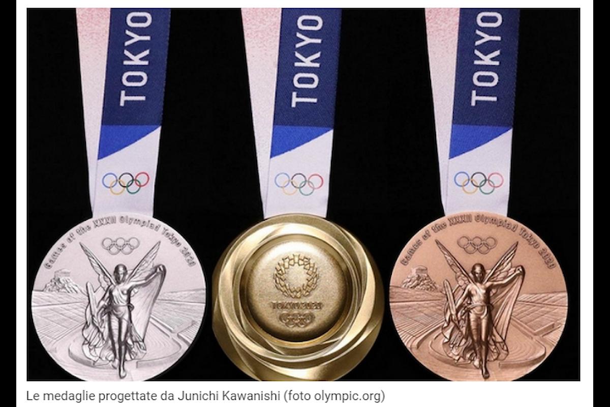 Giappone: per le Olimpiadi di Tokyo 2020 medaglie green