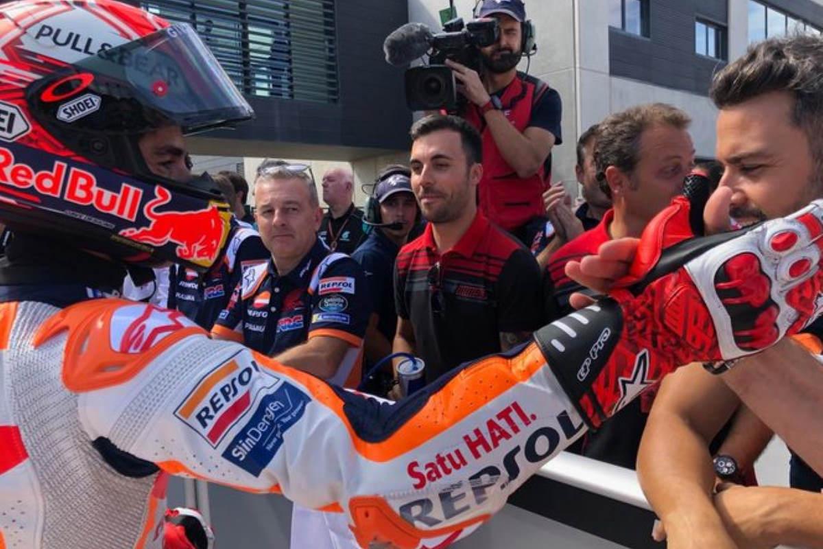 MotoGP, ad Aragon Marquez conquista la 5.a pole su quel circuito