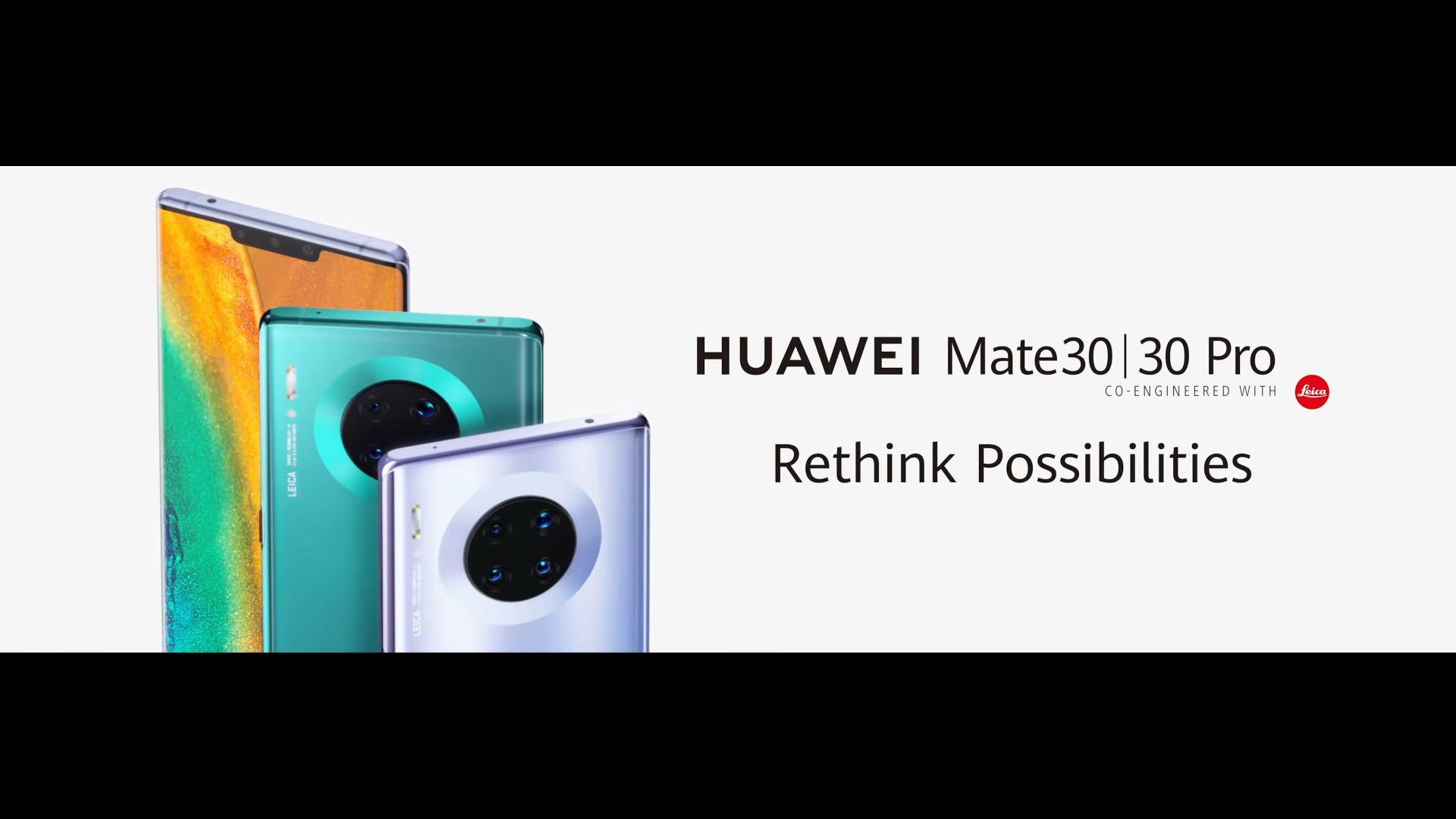 Huawei Mate 30 e Huawei Mate 30 Pro presentati ufficialmente: comparto fotografico da urlo e ottime prestazioni, ma...