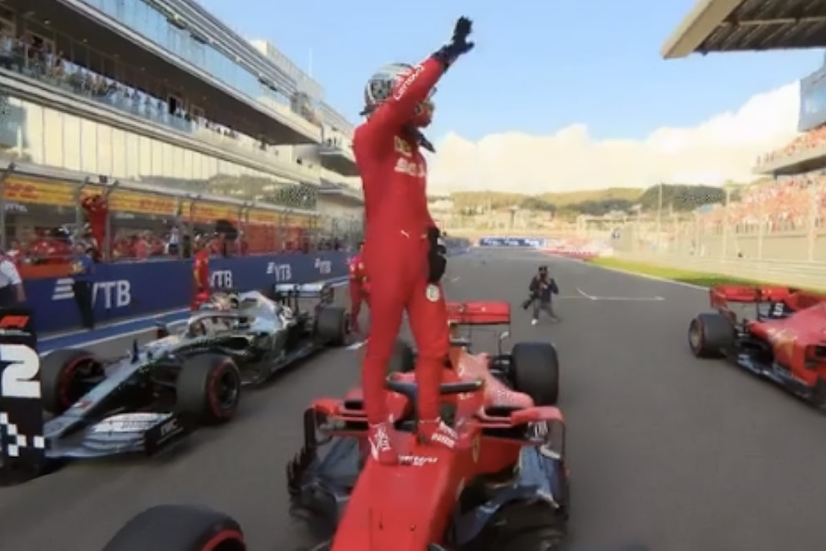 A Sochi Leclerc conquista la quarta pole di fila per la Ferrari, non accadeva dai tempi di Schumacher