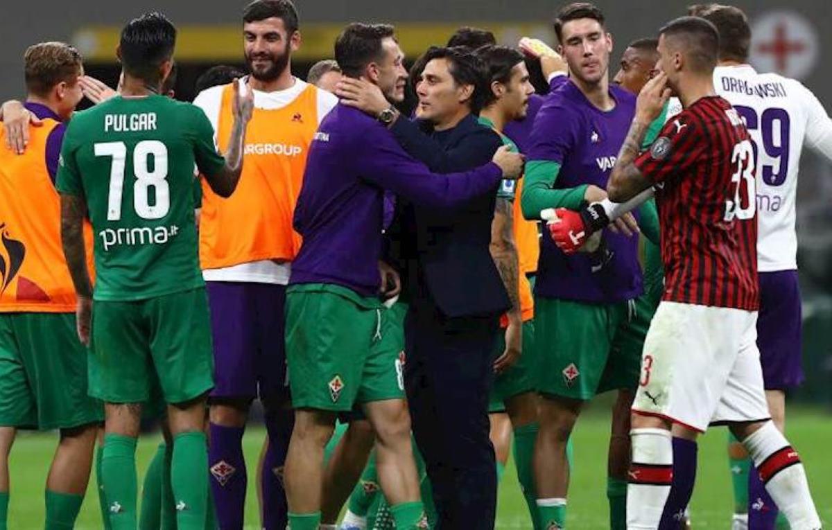 Il Milan non è una squadra di campioni e la Fiorentina lo asfalta 3-1 a San Siro