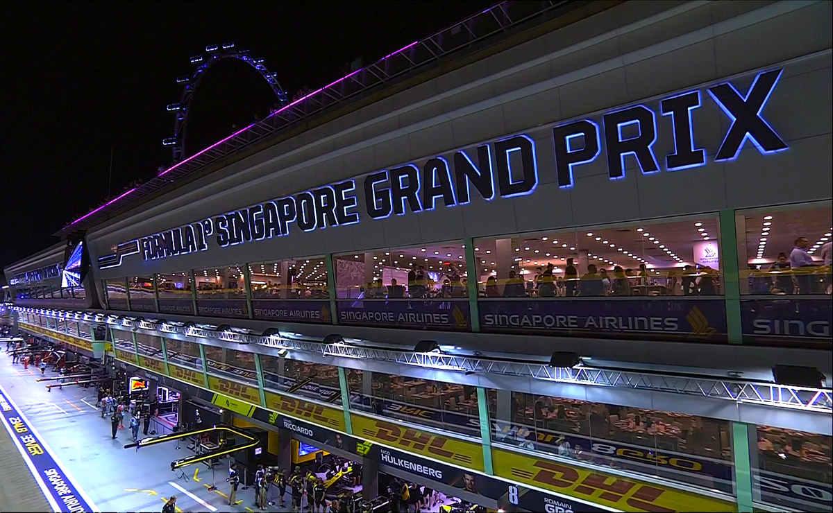 Formula 1, nelle libere del GP di Singapore Hamilton e Verstappen i più veloci, terzo Vettel