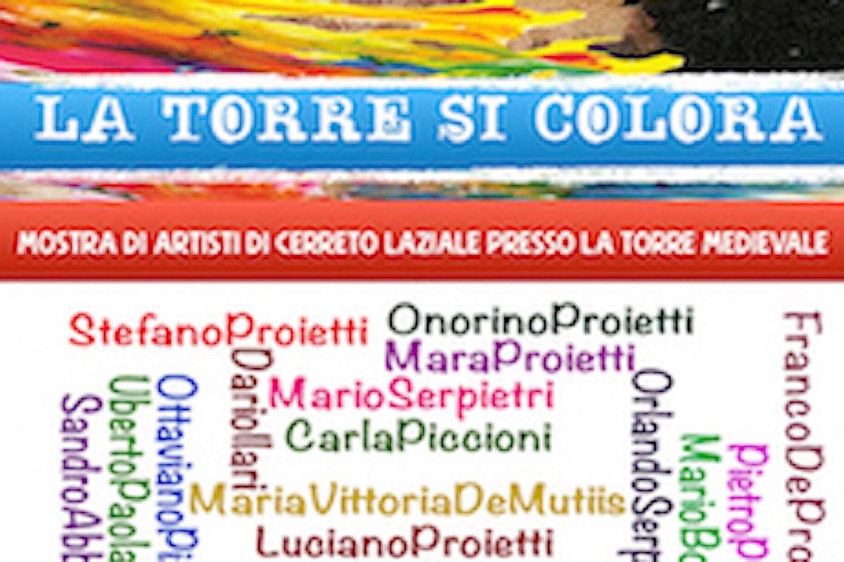 La Torre si colora: sabato prossimo a Cerreto Laziale inaugurazione mostra di artisti locali
