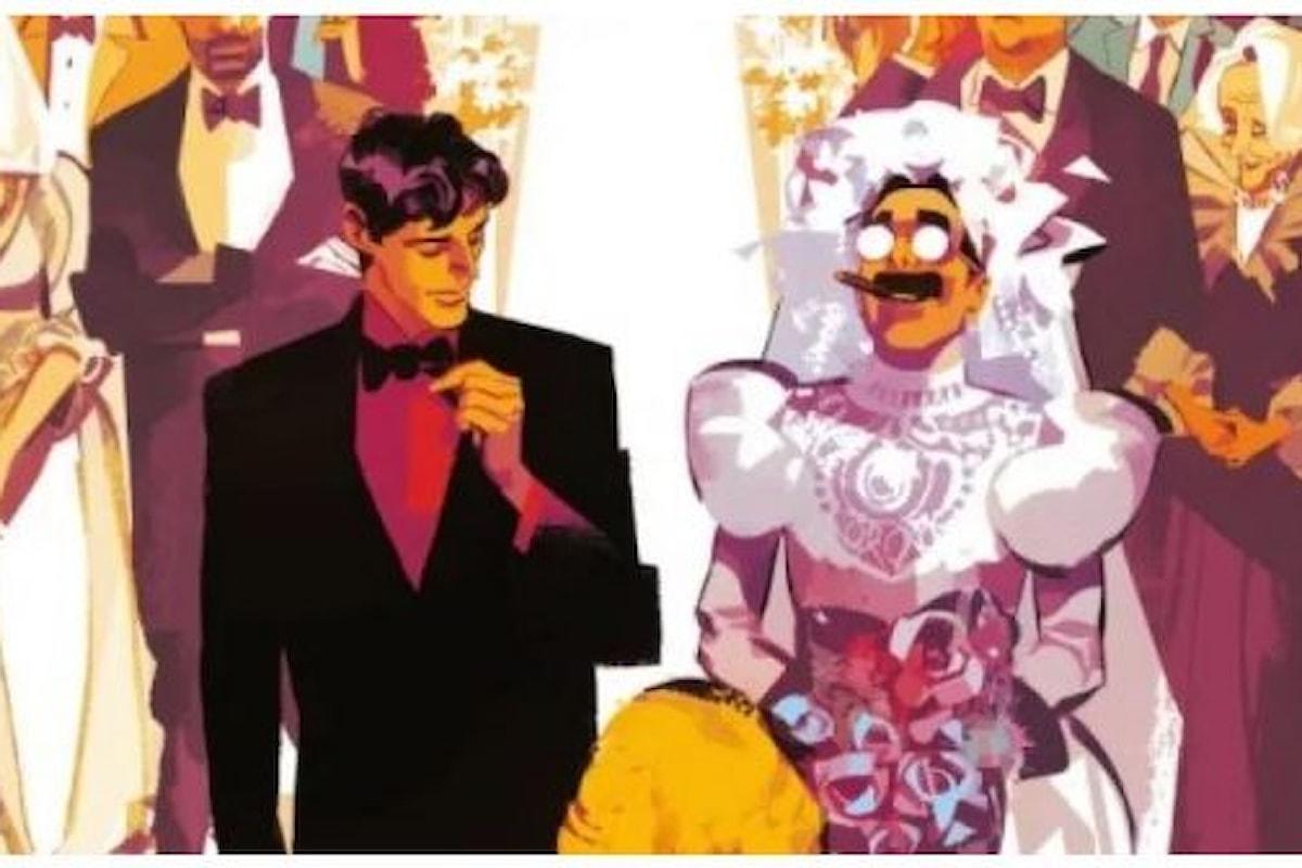 Matrimonio in vista per Dylan Dog con il suo assistente Groucho