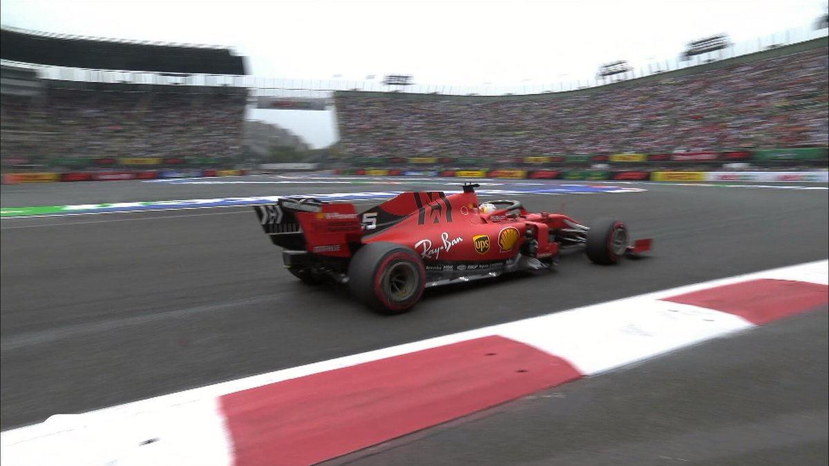 Formula 1, in Messico il più veloce nelle libere del venerdì è stata la Ferrari di Vettel
