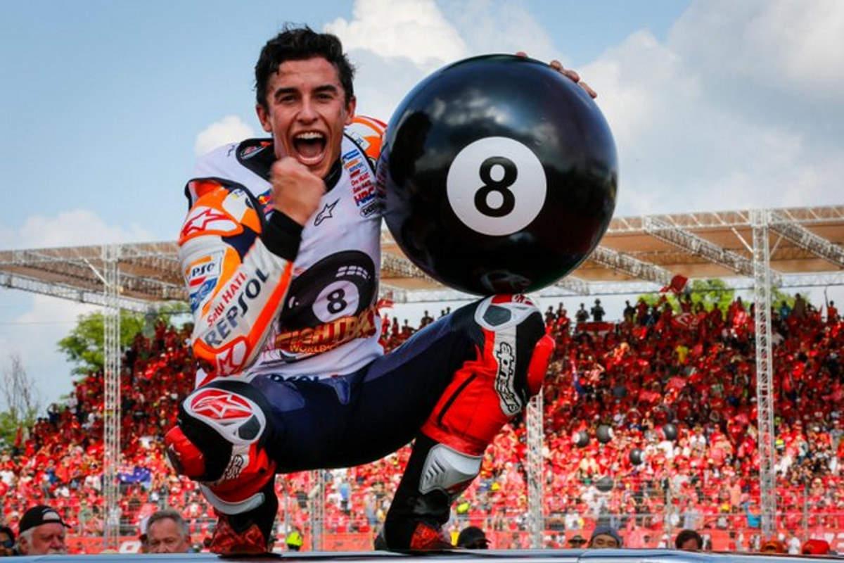 Marquez vince in Thailandia e conquista l'ottavo titolo mondiale in carriera, il sesto in MotoGP