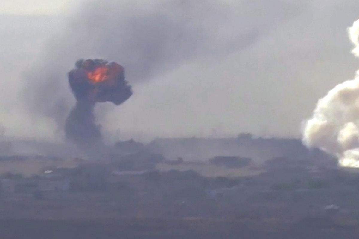Al quarto giorno dell'invasione turca nel nord della Siria si intensificano gli scontri a Ras al-Ain
