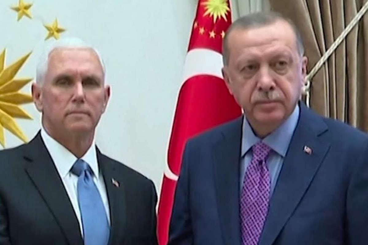 Pence va in Turchia ed Erdogan offre ai curdi un cessate il fuoco di 5 giorni per ritirarsi dal Rojava