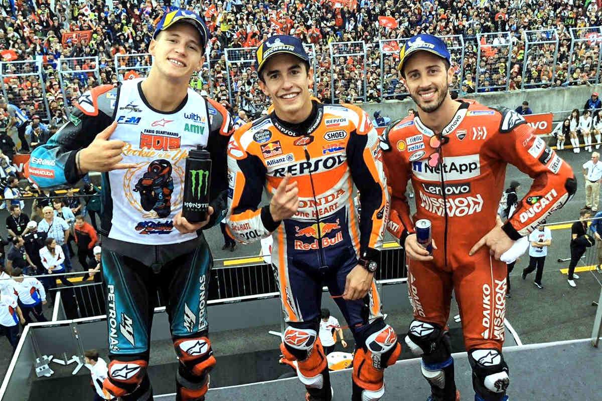 MotoGP, in Giappone vince Marquez che regala così il titolo costruttori 2019 alla Honda