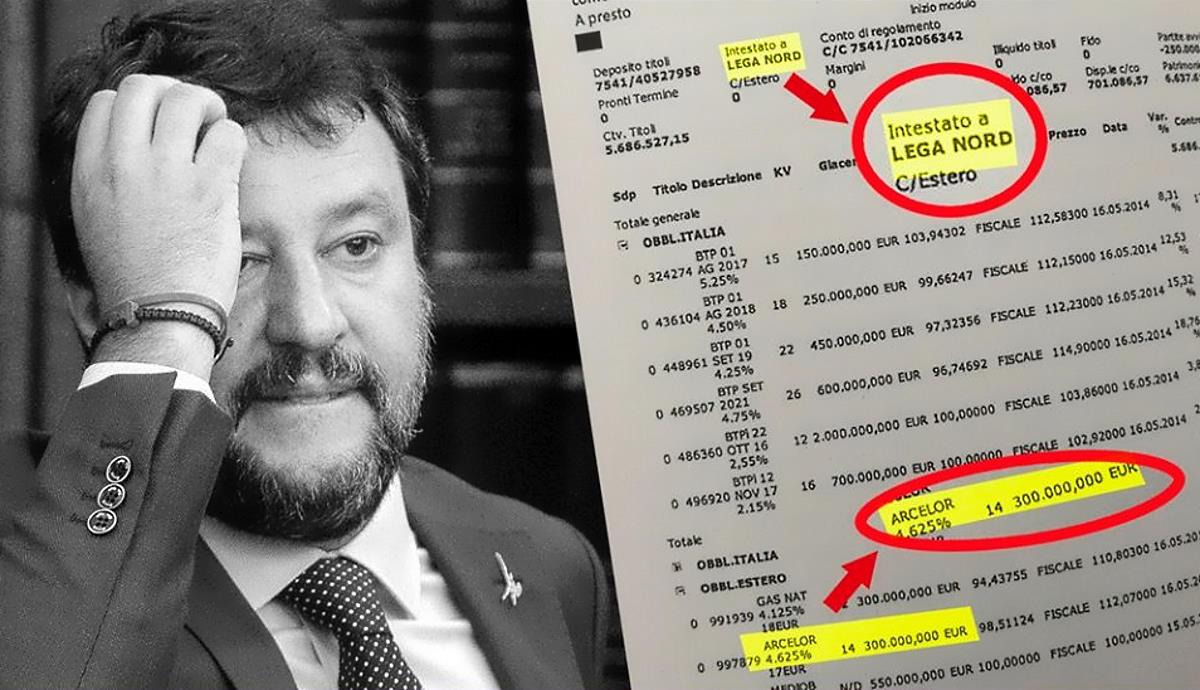 Il distratto Salvini su ArcelorMittal bacchetta Conte e il governo ma si dimentica che...