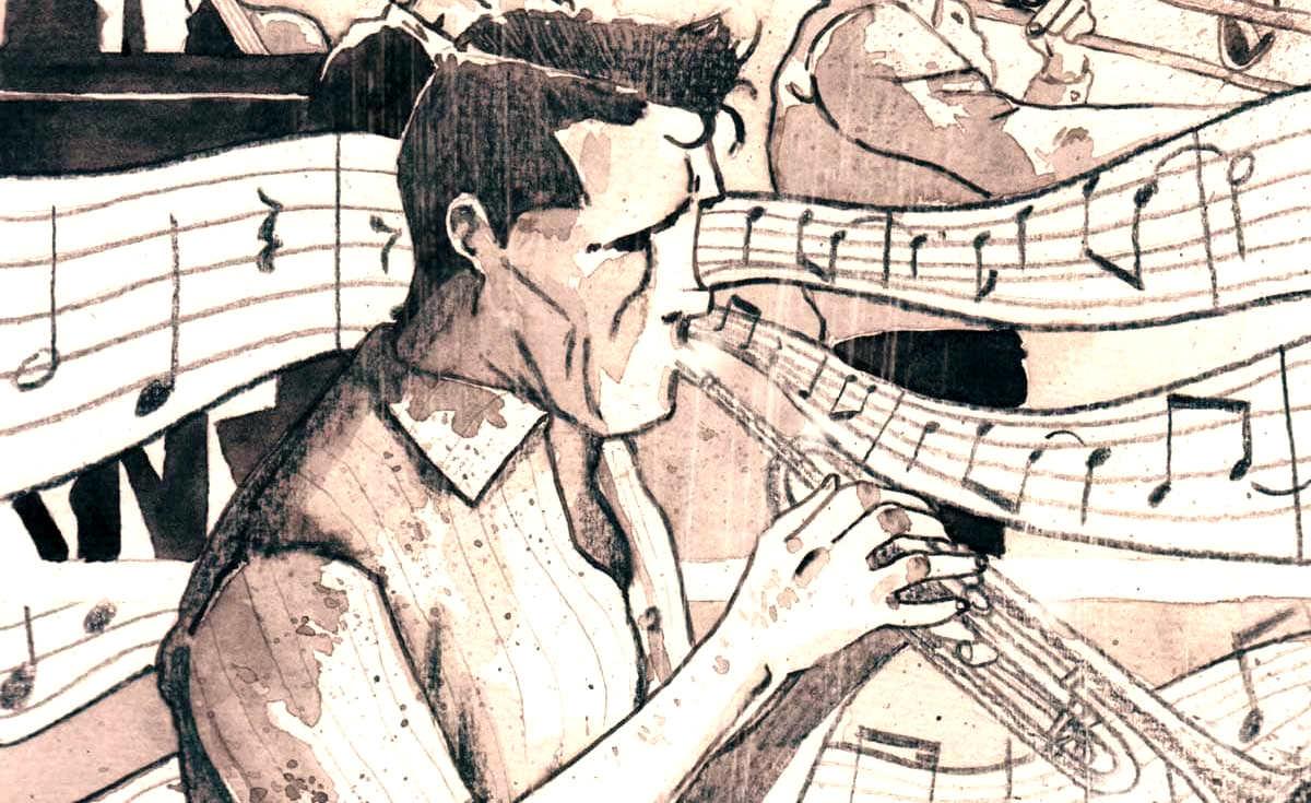 Marco Di Grazia e Cristiano Soldatich raccontano del trombettista jazz Chet Baker con una Graphic Novel