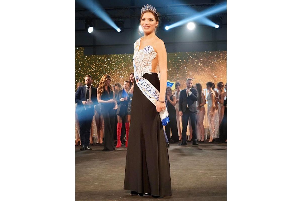 Eletta la nuova Miss Europe Continental Italy
