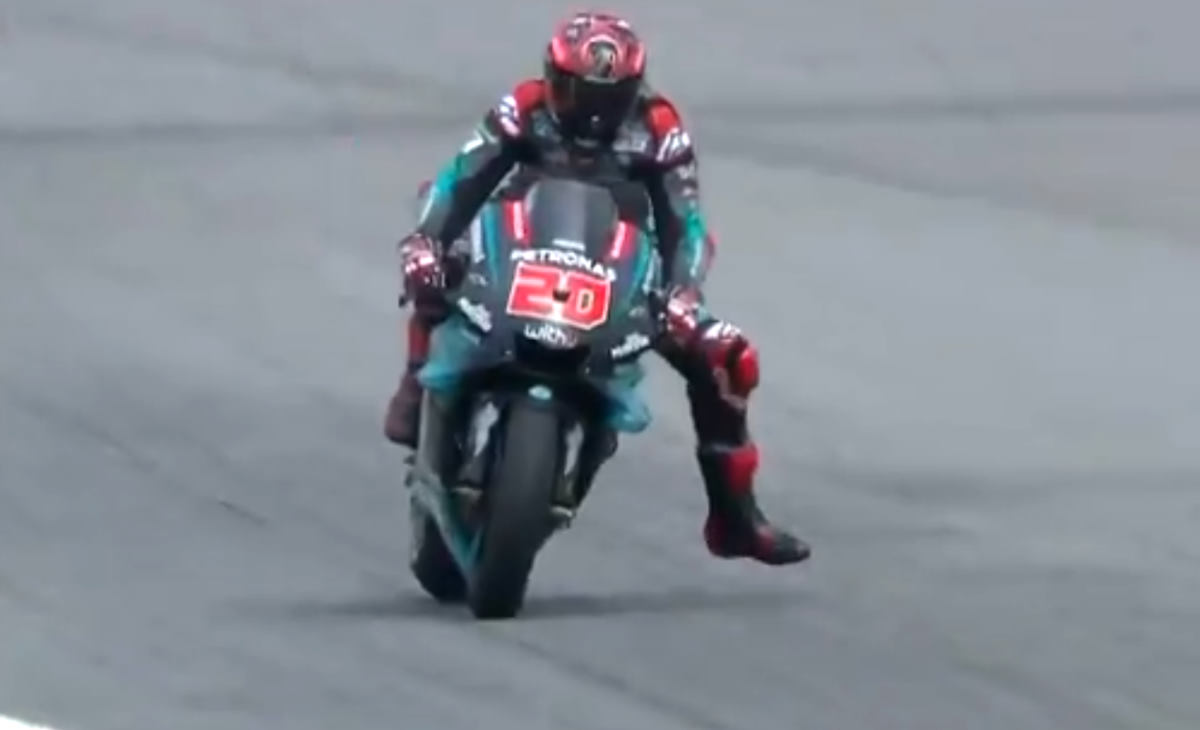 MotoGP, a Sepang il più veloce nelle libere del venerdì è Fabio Quartararo