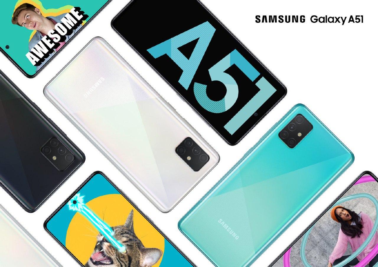 Samsung Galaxy A51 è stato presentato ufficialmente: è uno smartphone interessante, ma...