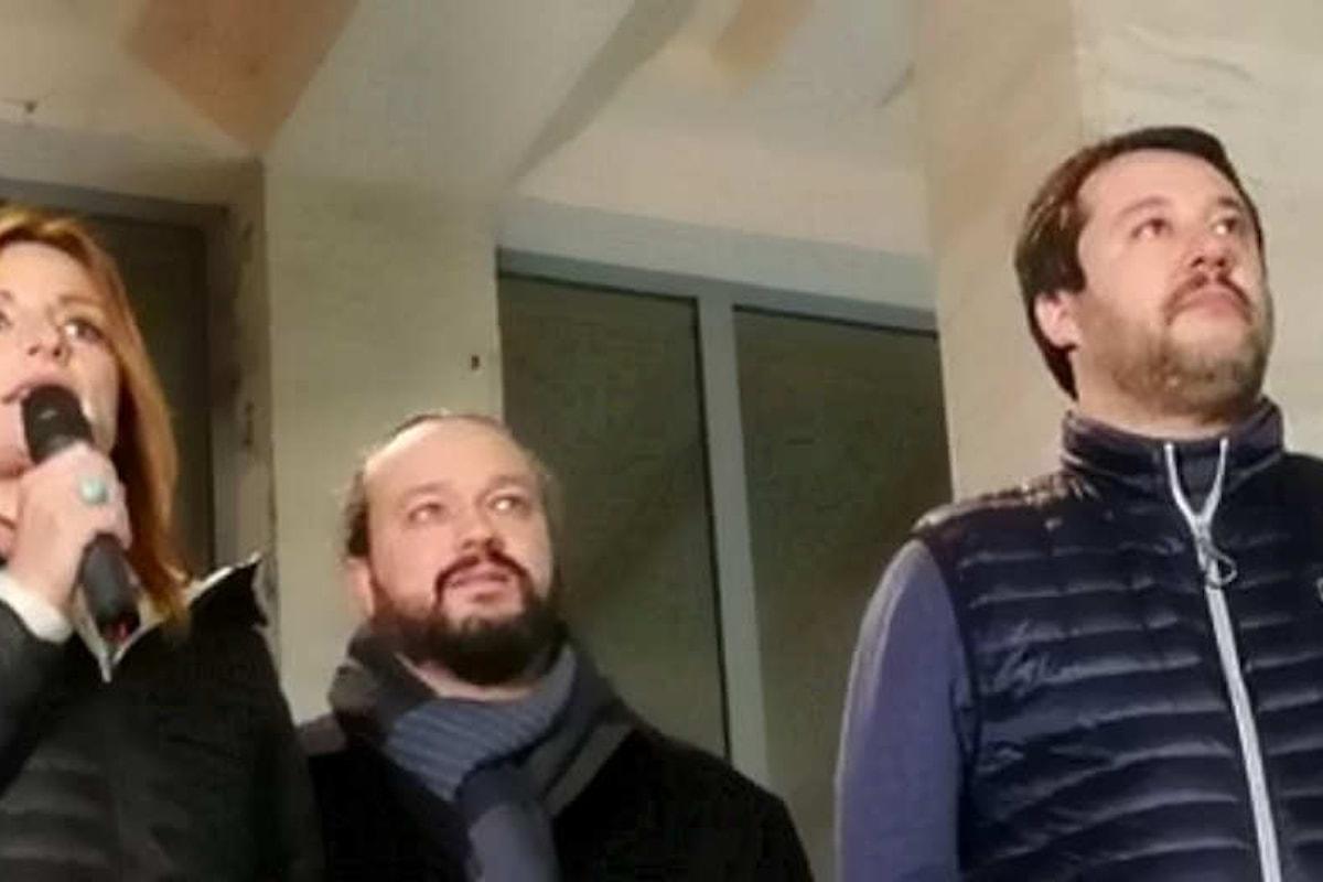 A Ferrara le sardine ancora una volta in piazza mentre Salvini è in città