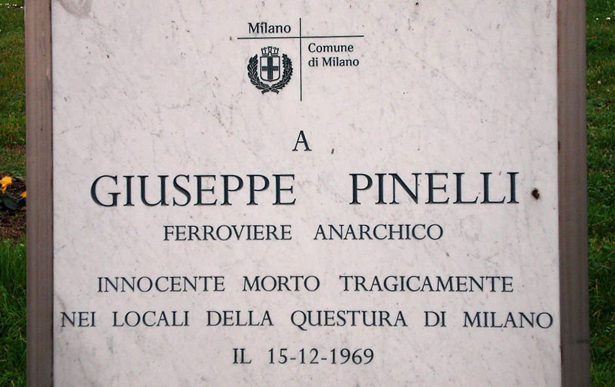 In ricordo dell'anarchico Pinelli a 50 anni dalla sua morte