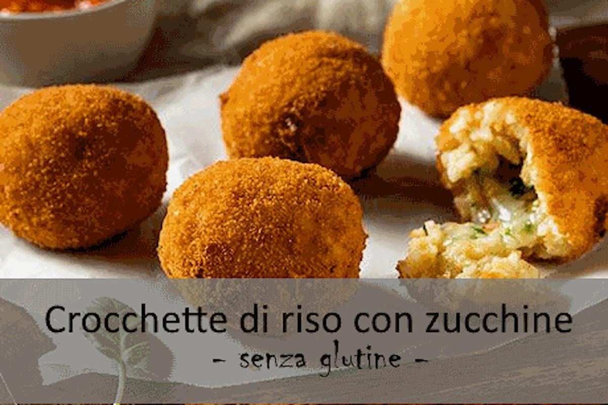 Crocchette di riso con zucchine (senza glutine)