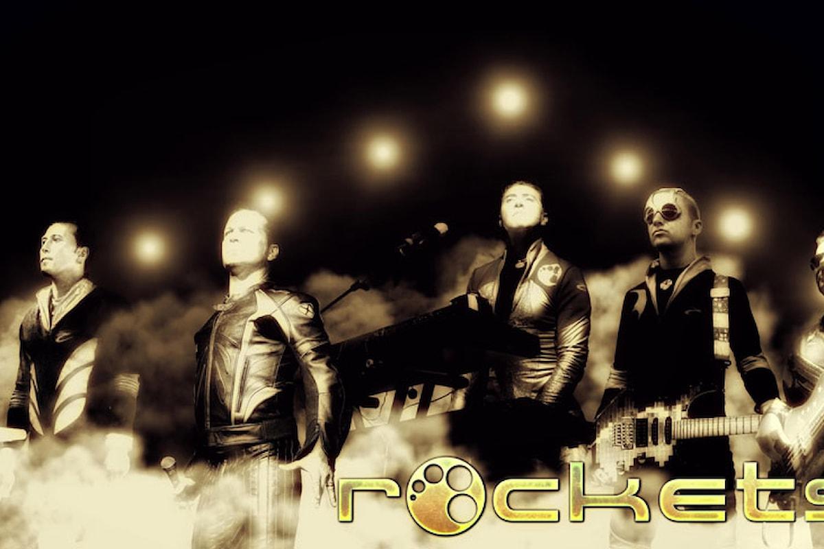 Rockets: arriva in radio Get It On il nuovo singolo