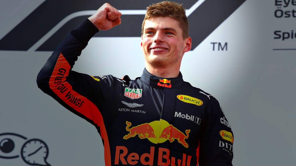 Max Verstappen rinnova con la Red Bul fino al 2023