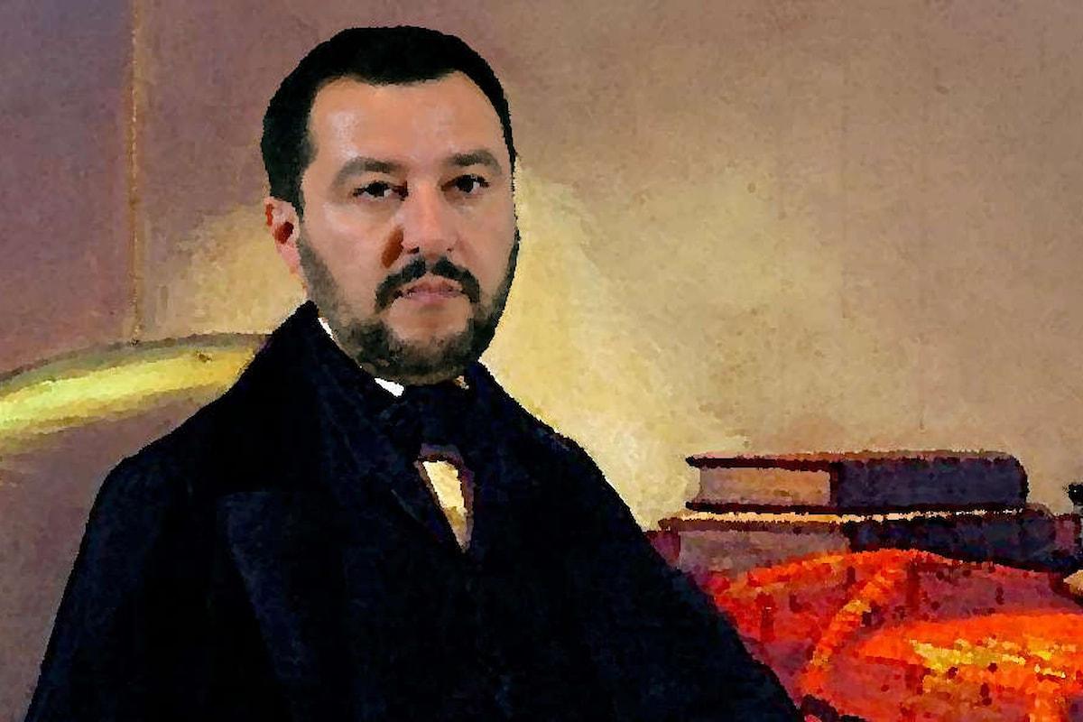 La memoria (corta) di Salvini che adesso si paragona pure a Silvio Pellico