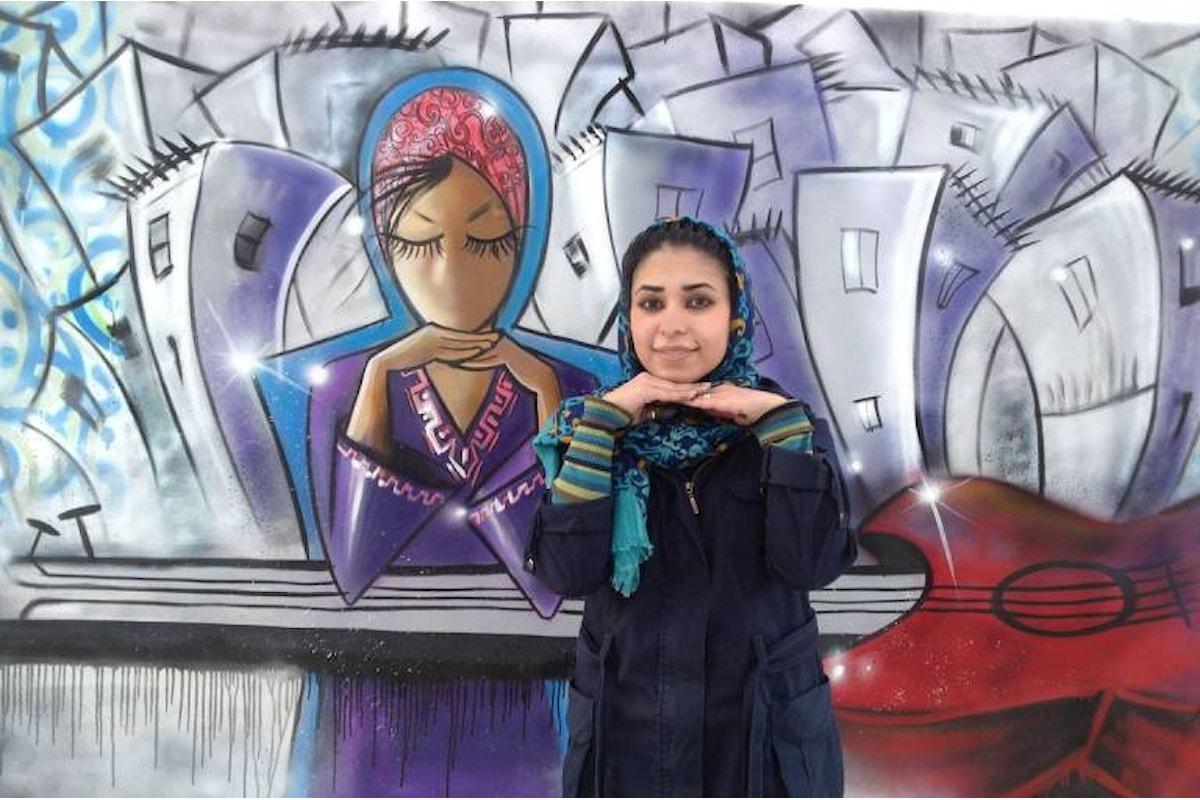 Graffiti di libertà. Il lavoro di Shamsia Hassani