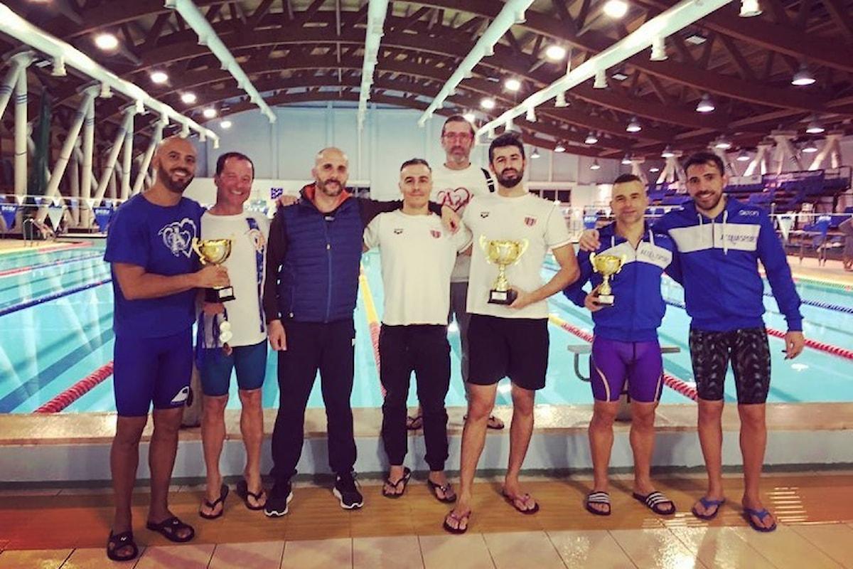 Nuoto Master. La Rari Nantes Cagliari conquista la terza vittoria di fila alla manifestazione I Love Amelia 2020
