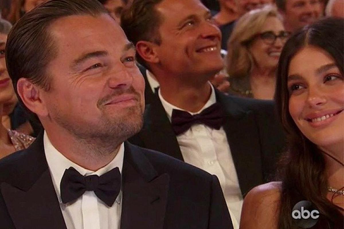 Agli Oscar Leonardo DiCaprio ufficializza (quasi) la relazione con Camila Morrone