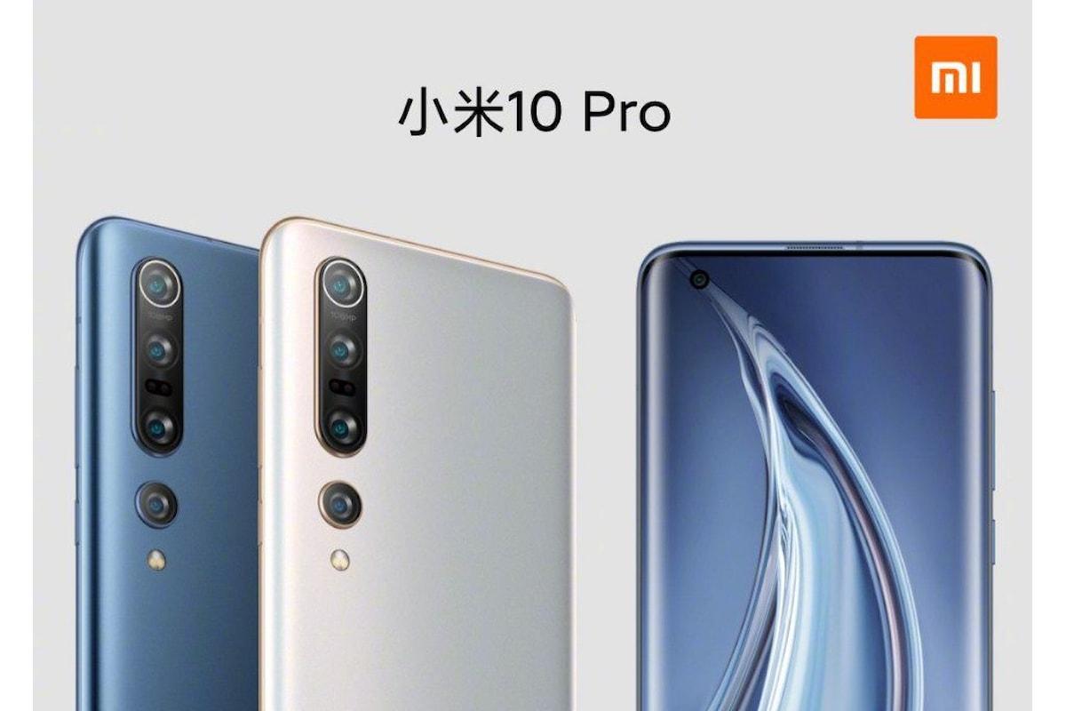 Xiaomi Mi 10 e Mi 10 Pro presentati ufficialmente in Cina: i migliori smartphone Xiaomi di sempre