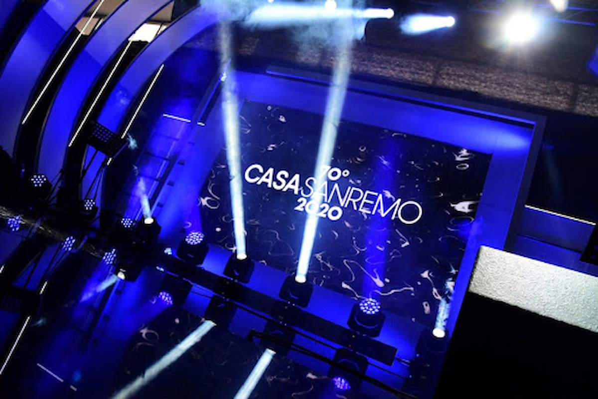 Grande cuccesso per Casa Sanremo 2020