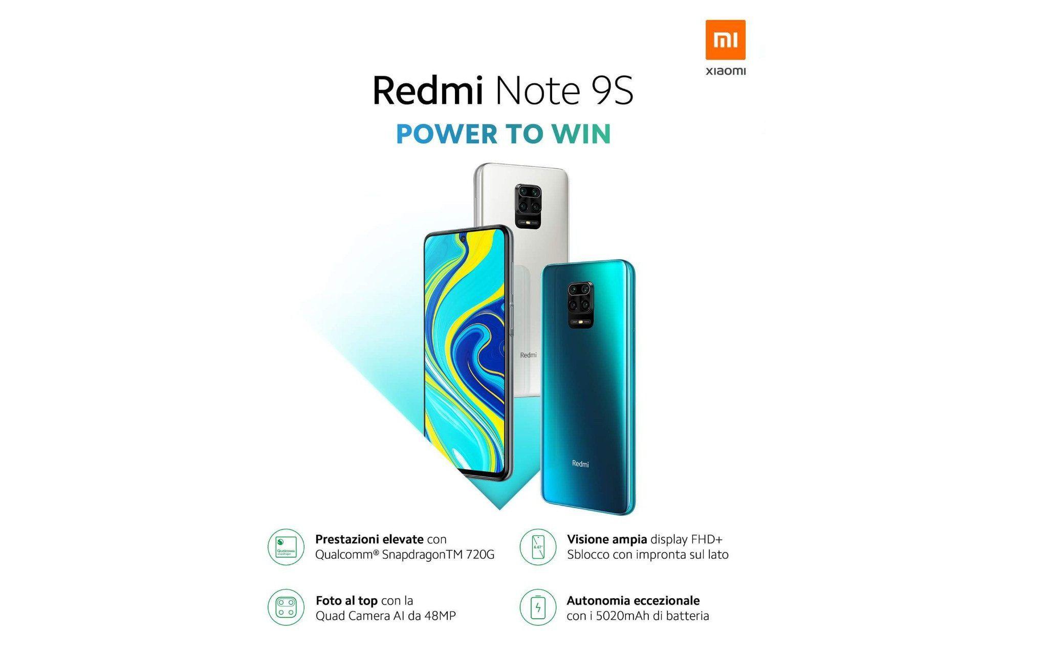 Redmi Note 9S è stato presentato ufficialmente: un best-buy non ancora disponibile in Italia