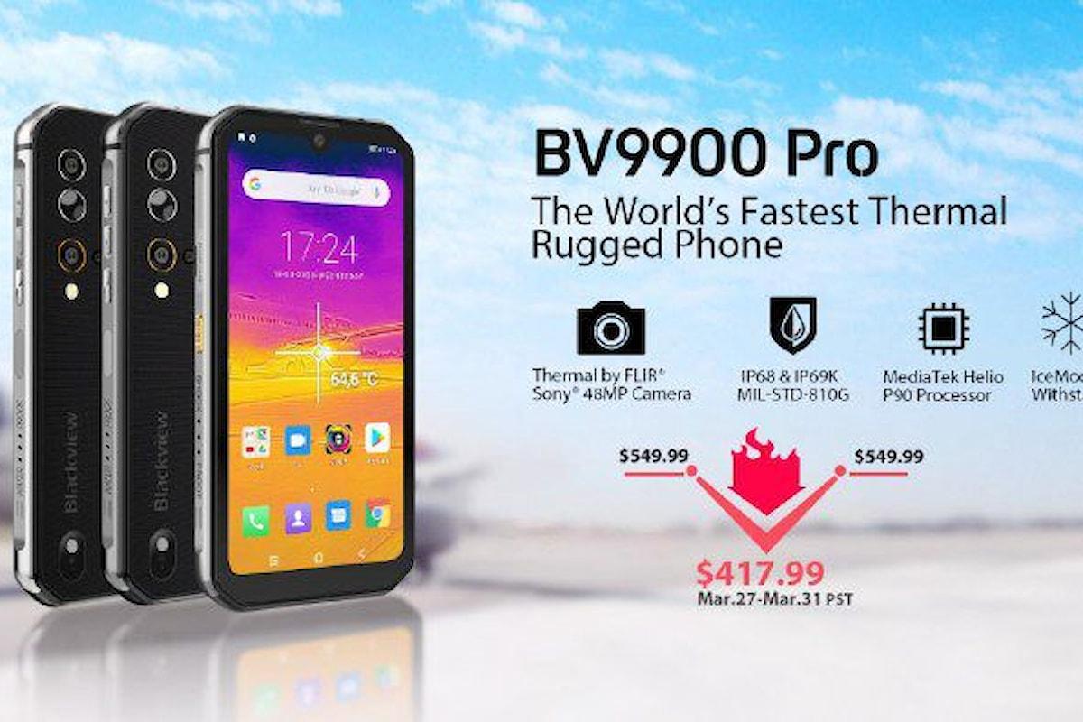 Blackview BV9900 Pro è un ottimo rugged smartphone
