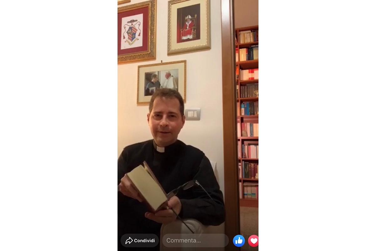 Messa e incontri di preghiera arrivano su Facebook in streaming video. Don Pompili: Restiamo uniti nel Signore anche grazie al web