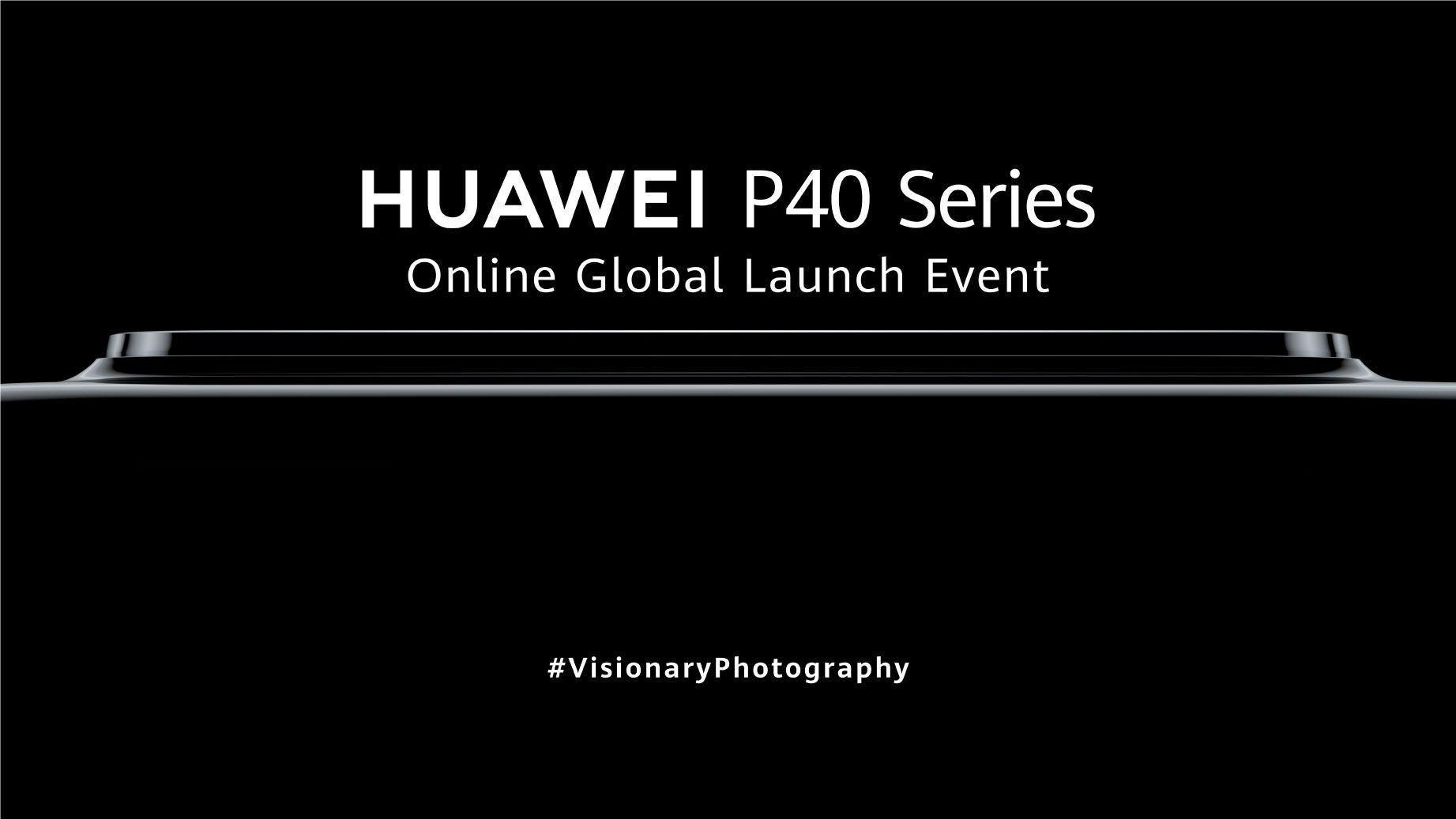 Gli smartphone della Huawei P40 Series presentati il 26 marzo in diretta streaming