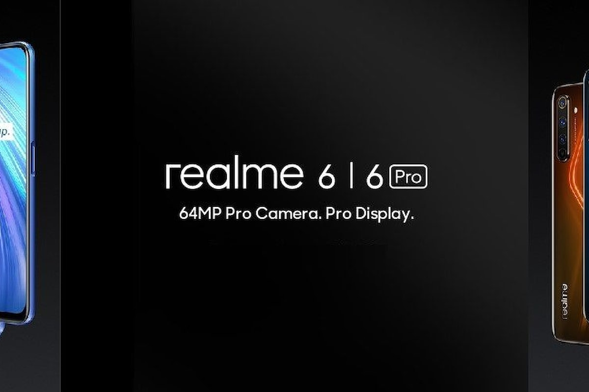 Realme 6 e Realme 6 Pro presentati ufficialmente: Redmi deve iniziarsi a preoccupare (ma anche Xiaomi e tutti gli altri)