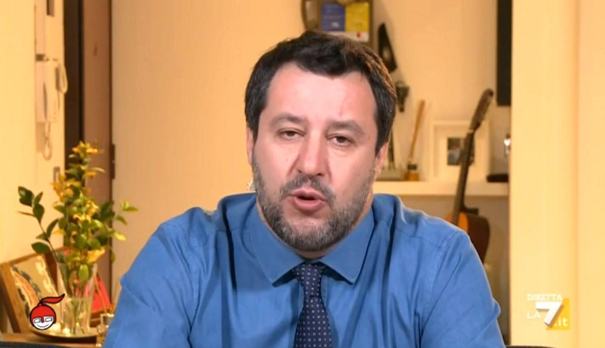 Salvini tenta inutilmente di nascondere la disastrosa gestione dell'emergenza Covid da parte della regione Lombardia