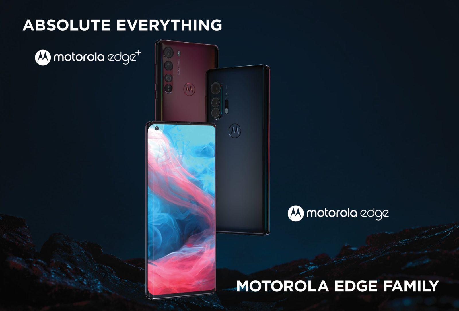 Motorola Edge e Motorola Edge+ presentati ufficialmente: tanta bellezza e potenza, supporto 5G e non solo