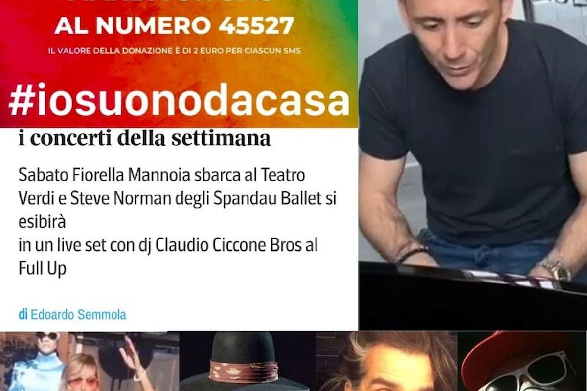 Chi cambiera' la musica? Live & Streaming dai Moda' al Dj Claudio Ciccone Bros. #iosuonodacasa
